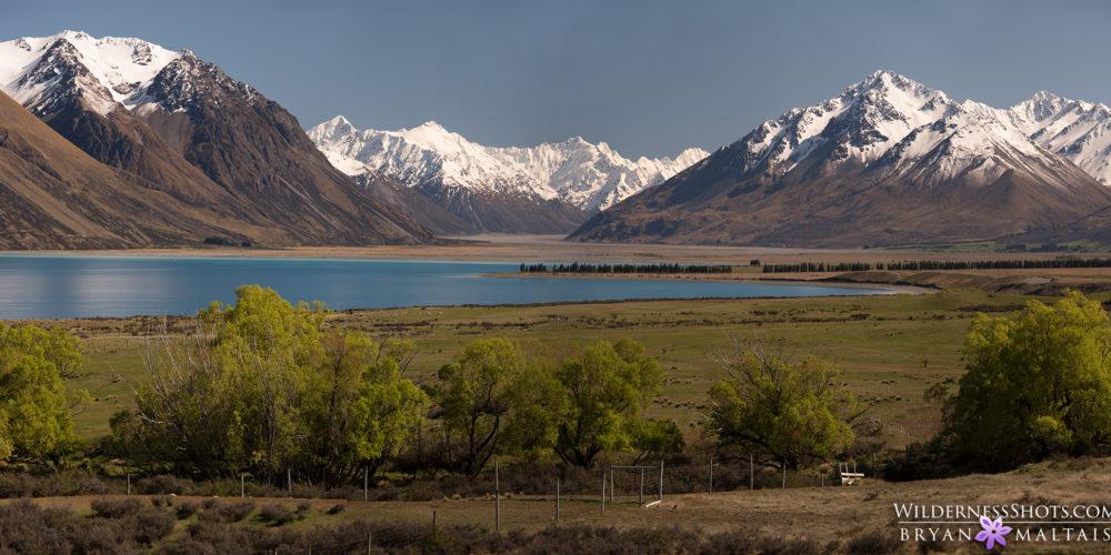 Lake Tekapo Panoramic New Zealand Landscape Photography