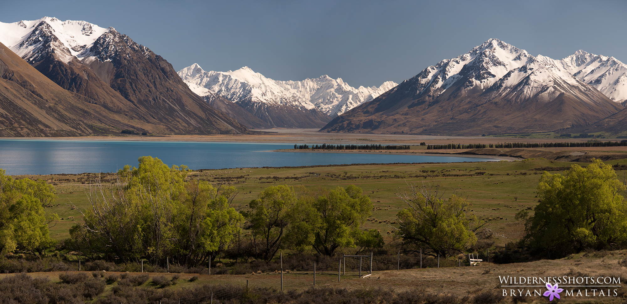 Lake Tekapo Panoramic New Zealand Landscape Photography