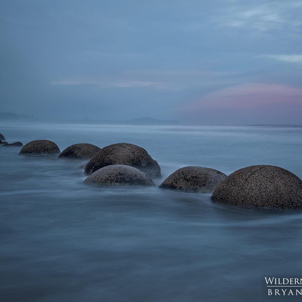 Moeraki Boulders New Zealand photography