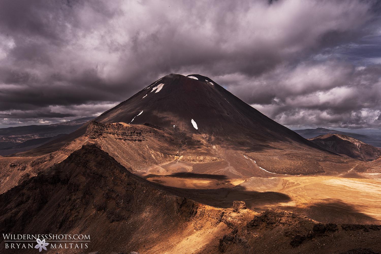 Mt Doom Ngauruhoe New Zealand Landscape Photography