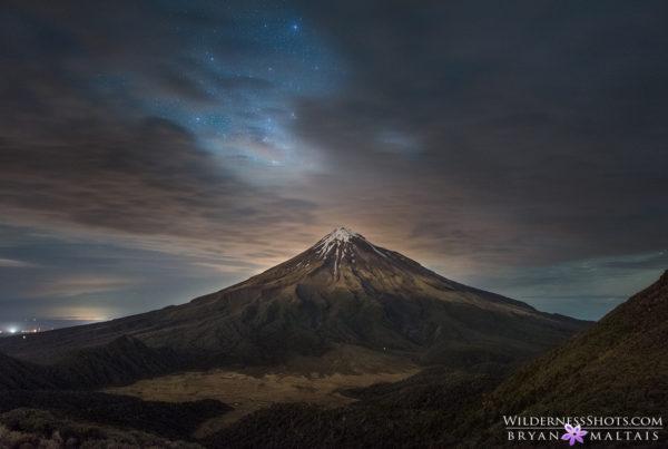Mt Taranaki Egmont Night New Zealand Landscape Photography