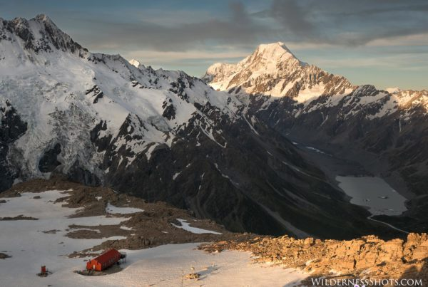 Mt. Cook and Mueller Hut, New Zealand Photography