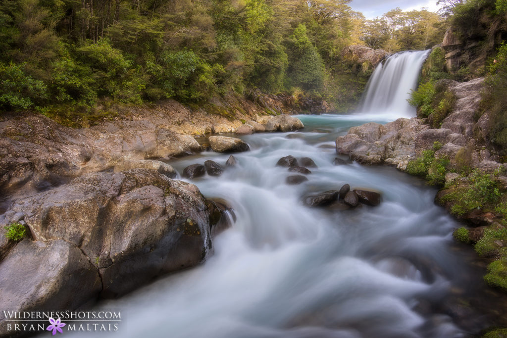 Tawhai Falls New Zealand Landscape Photography