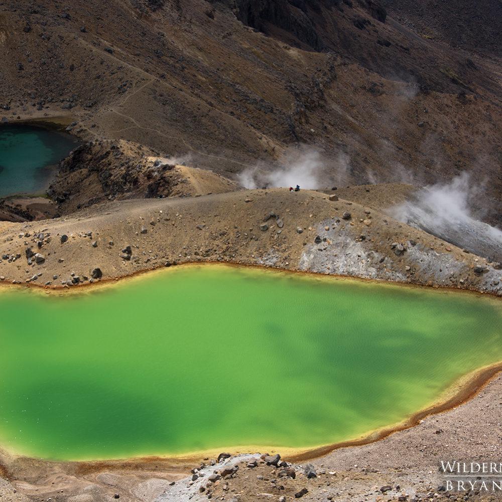 Tongariro Crossing Emerald Pools New Zealand Photography