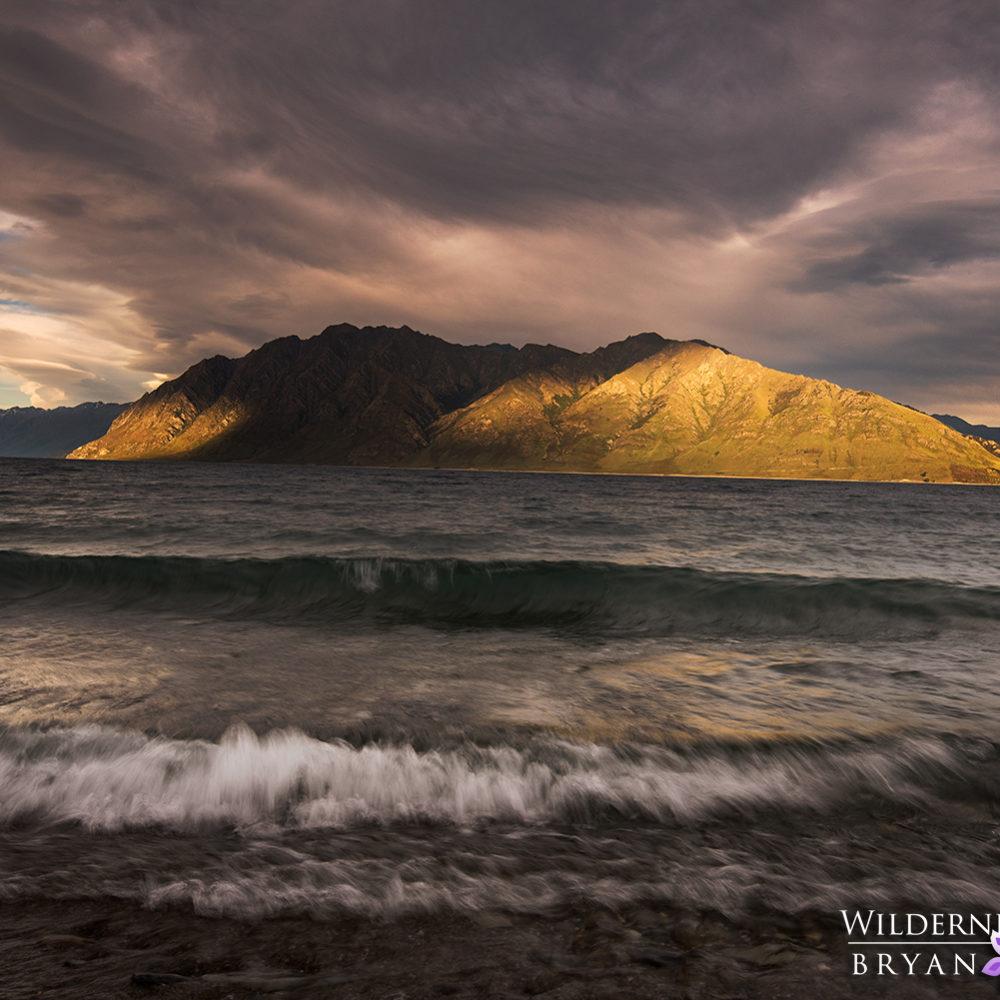 Wanaka Lake Hawea Sunset New Zealand Pictures