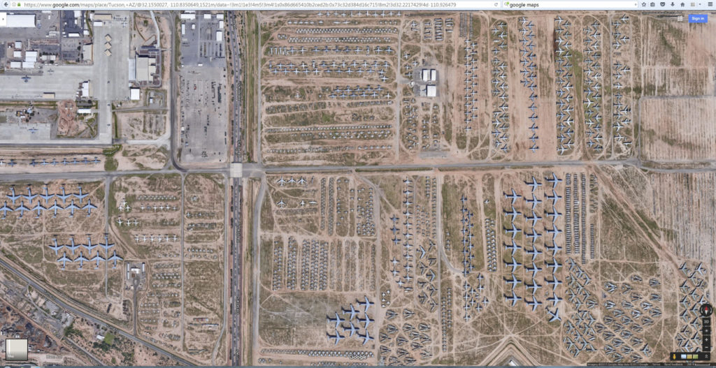 Photographing the Boneyard-Tucson Arizona, Davis Monthan Air Force Base