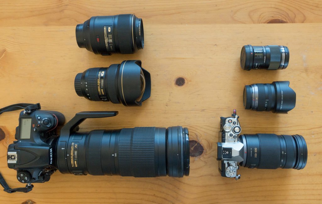 size difference between full frame crop frame camera micro four thirds