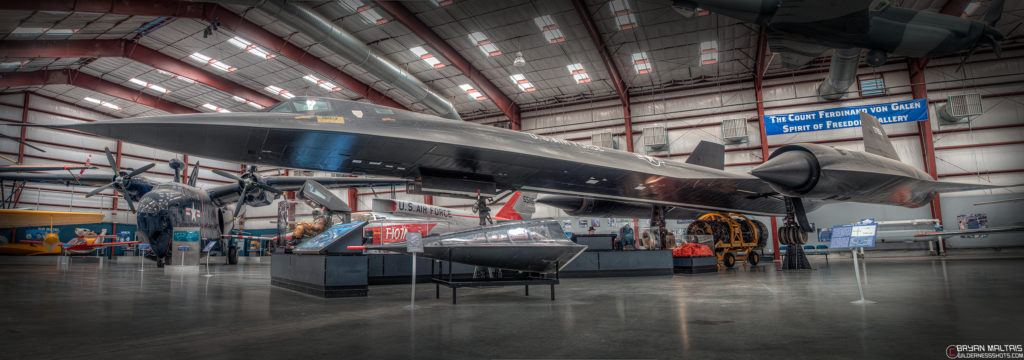SR-71 Blackbird, Pima Aviation Museum