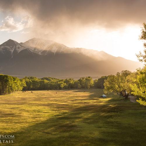 Mt Princeton Colorado Photography