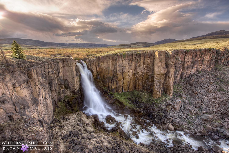 North Clear Creek Falls Colorado Photos