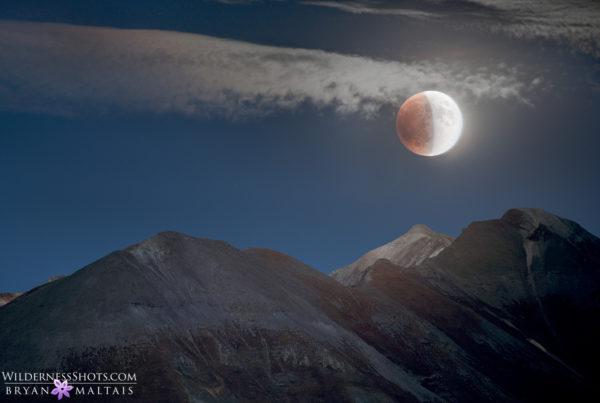 Blood Moon Eclipse 2015 colorado photography bryan maltais