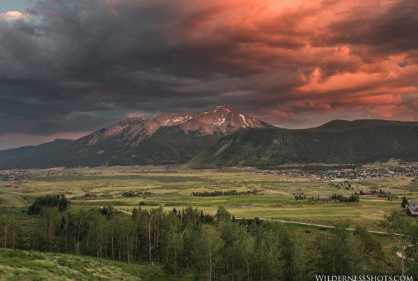 Whetstone Mountain Crested Butte Colorado Photos Bryan Maltais