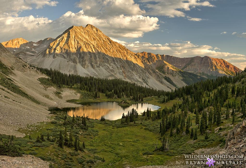 Elk Mountains Sunset Colorado Photos