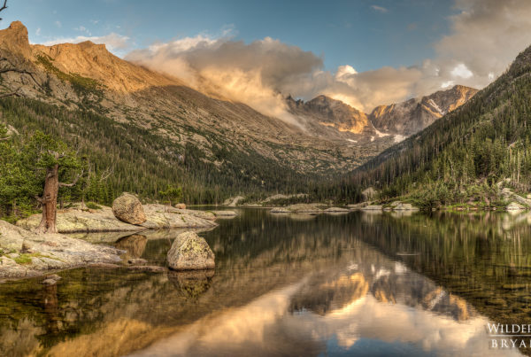 Mills Lake Rocky Mountain National Park Panorama Photos Bryan Maltais
