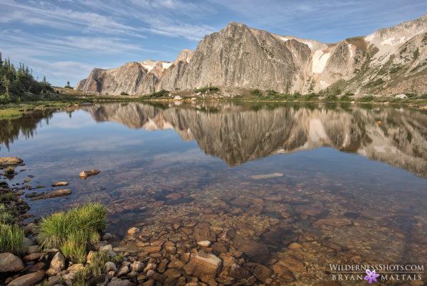 Snowy Range Reflection Wyoming Photos Bryan Maltais