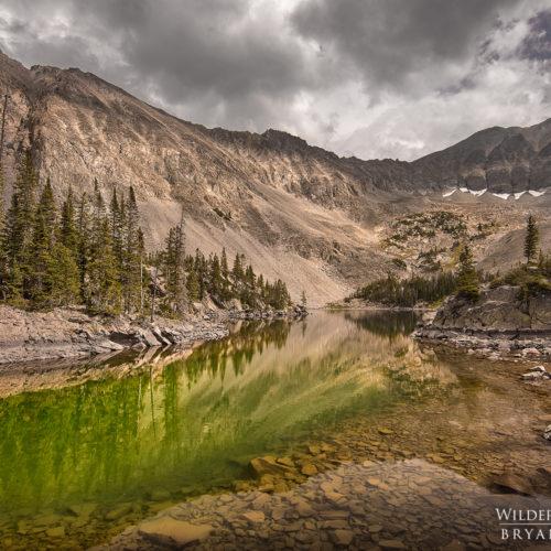 mountain lake colorado landscape photography
