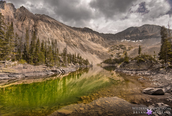 mountain lake colorado landscape photography