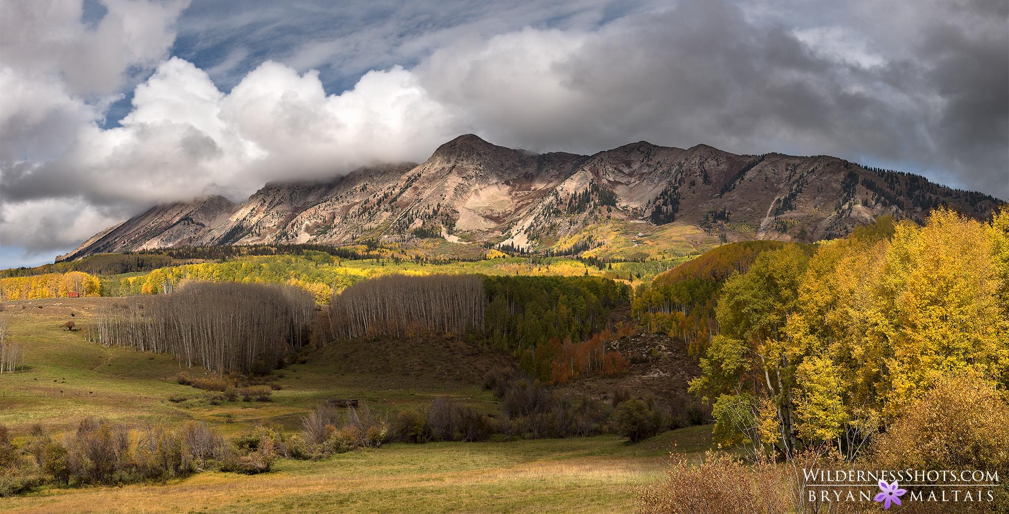 Ohio Pass Anthracite Range Colorado Panorama